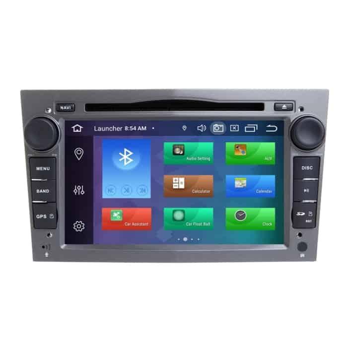 Navigatie WAR Auto dedicata Opel Zafira B (2005-2009) - 2+32 GB - Quad Core cu Android GPS Bluetooth Radio DSP Internet WiFi