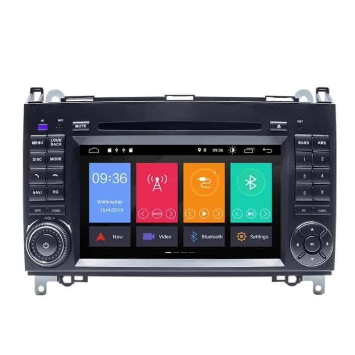 Navigatie WAR Auto dedicata Mercedes Sprinter (2004-2017) - 2+32 GB - Octa Core cu Android GPS Bluetooth Radio DSP Internet WiFi