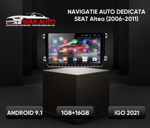 Navigatie Auto Dedicata Seat Altea 9 inch