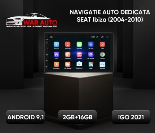 Navigatie GPS 7 inch Seat Ibiza (2004-2010)