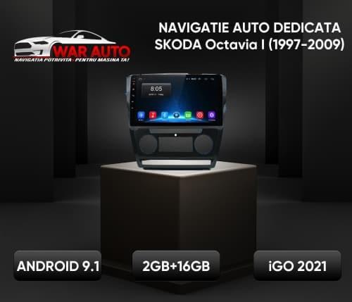 Navigatie Auto Dedicata Octavia 1 9 inch