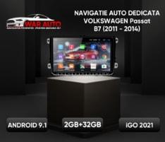 Navigatie GPS Android ecran 9 inch VW Volkswagen Passat B7 (2011-2014)