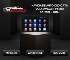 Navigatie GPS – RNS style – ecran 7 inch VW Volkswagen Passat B7 (2011-2014)