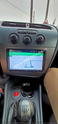 Navigatie GPS 9 inch Seat Leon (2006-2011)