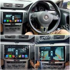 Navigatie GPS Android ecran 10.2 inch VW Volkswagen Passat B7 (2011-2014)