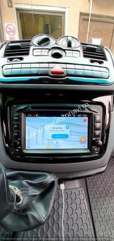 Navigatie GPS Android Mercedes Viano