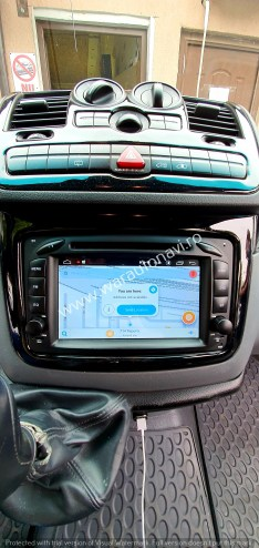 Navigatie GPS Android Mercedes Vito
