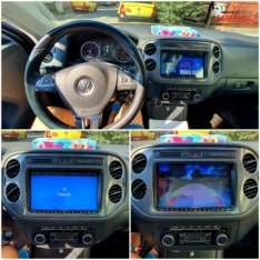 Navigatie GPS Android ecran 9 inch VW Volkswagen Sharan 7N (2010-2021)