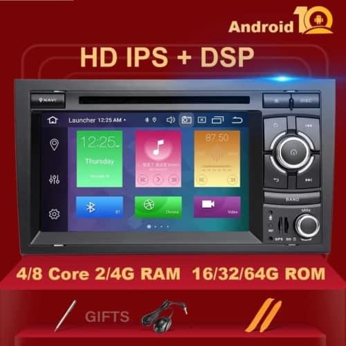 Navigatie GPS Android ecran 7 inch Audi A4 B6 (2000-2005)